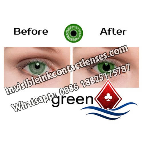green eyes infrared contact lenses