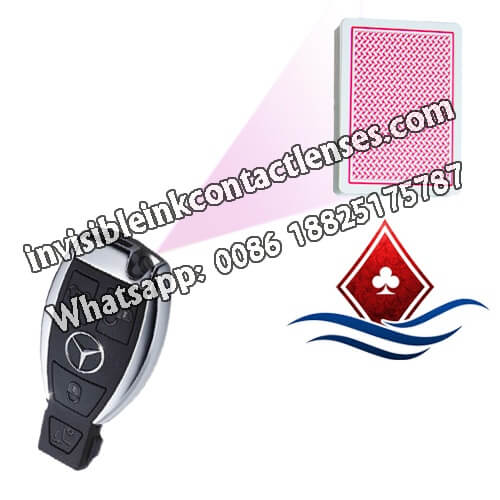 Mercedes Benz Car Key Poker Lens