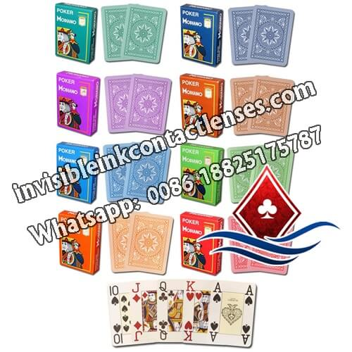 modiano infrared contact lenses poker cards