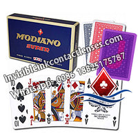 modiano super luminous ink marked cards