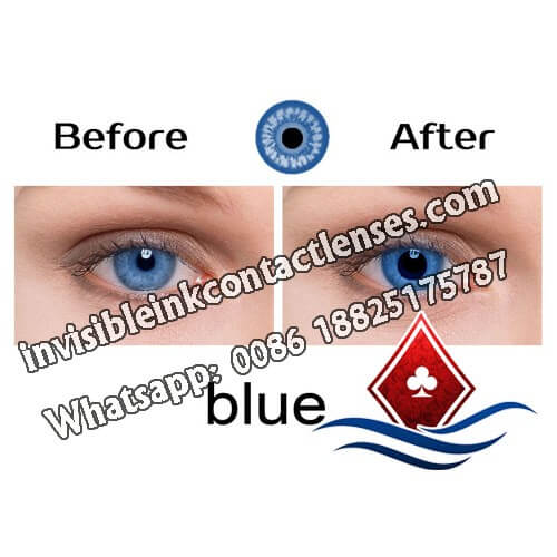 poker cheating contact lenses for blue eyes