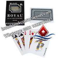 Royal Invisible Playing Cards