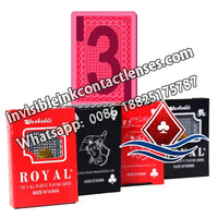 Royal Marked Poker Cards