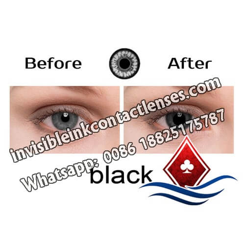 marked cards contact lenses for black eyes