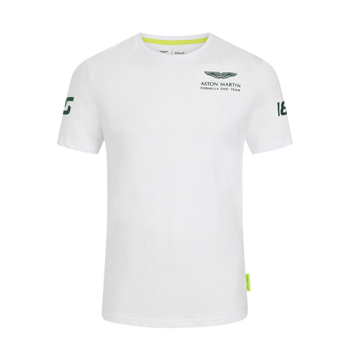 AMCF1 Official Lance Stroll T-Shirt - Aston Martin Cognizant F1 Shop