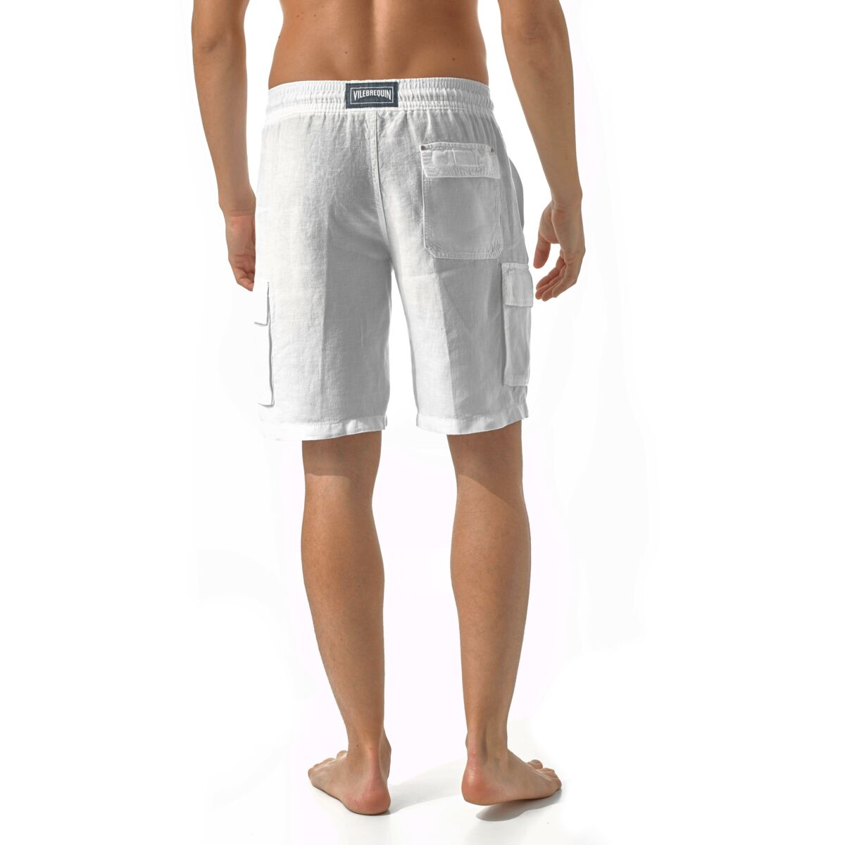 Vilebrequin Baie men's White Bermuda shorts