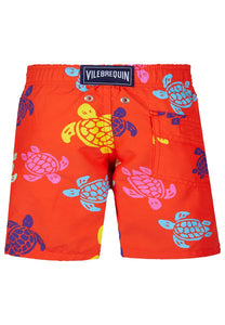 Vilebrequin Boys Tortues Multicolored Swim Short