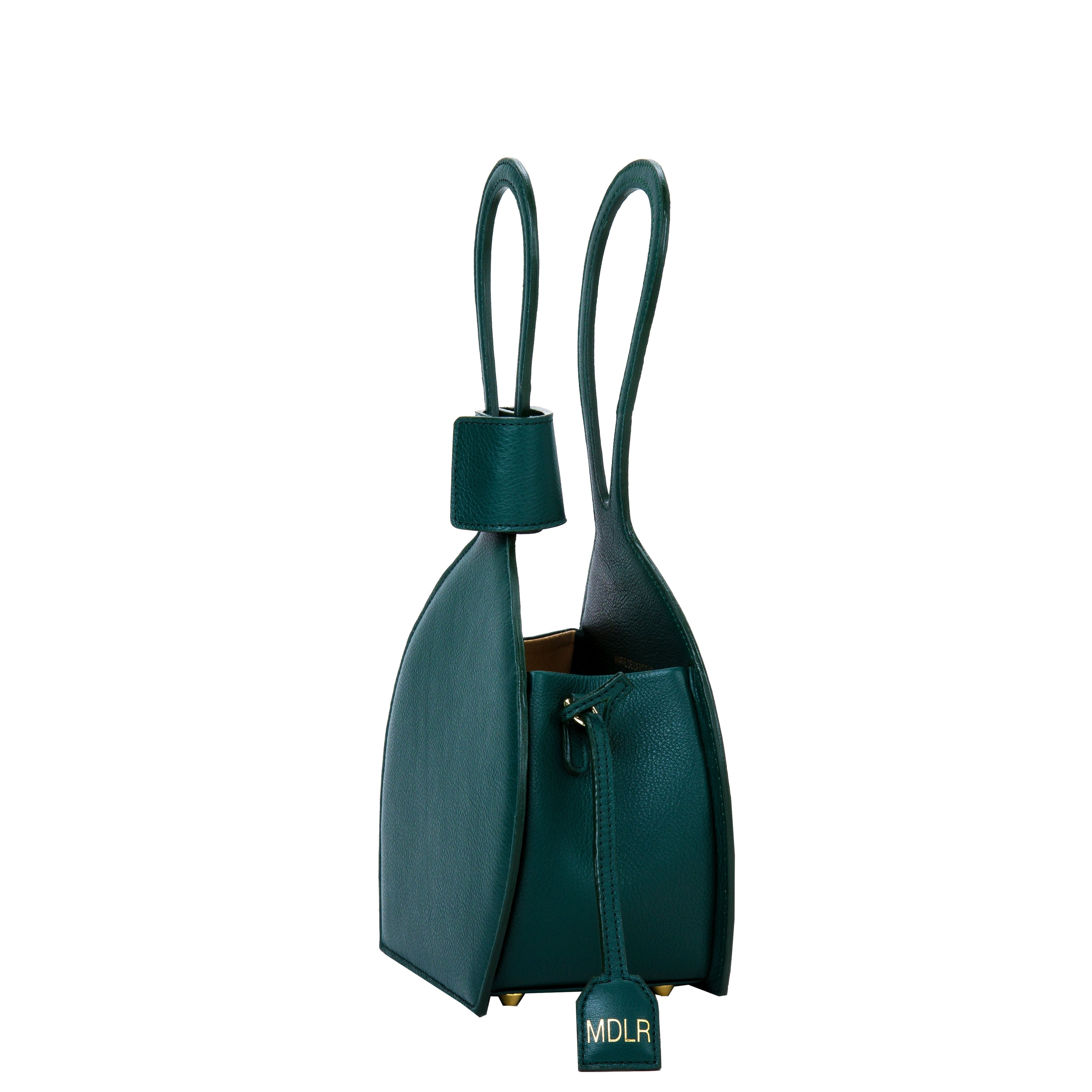 ATENA GREEN PURSE-SLING BAG, a green bag, handbag with minimalist look from MDLR