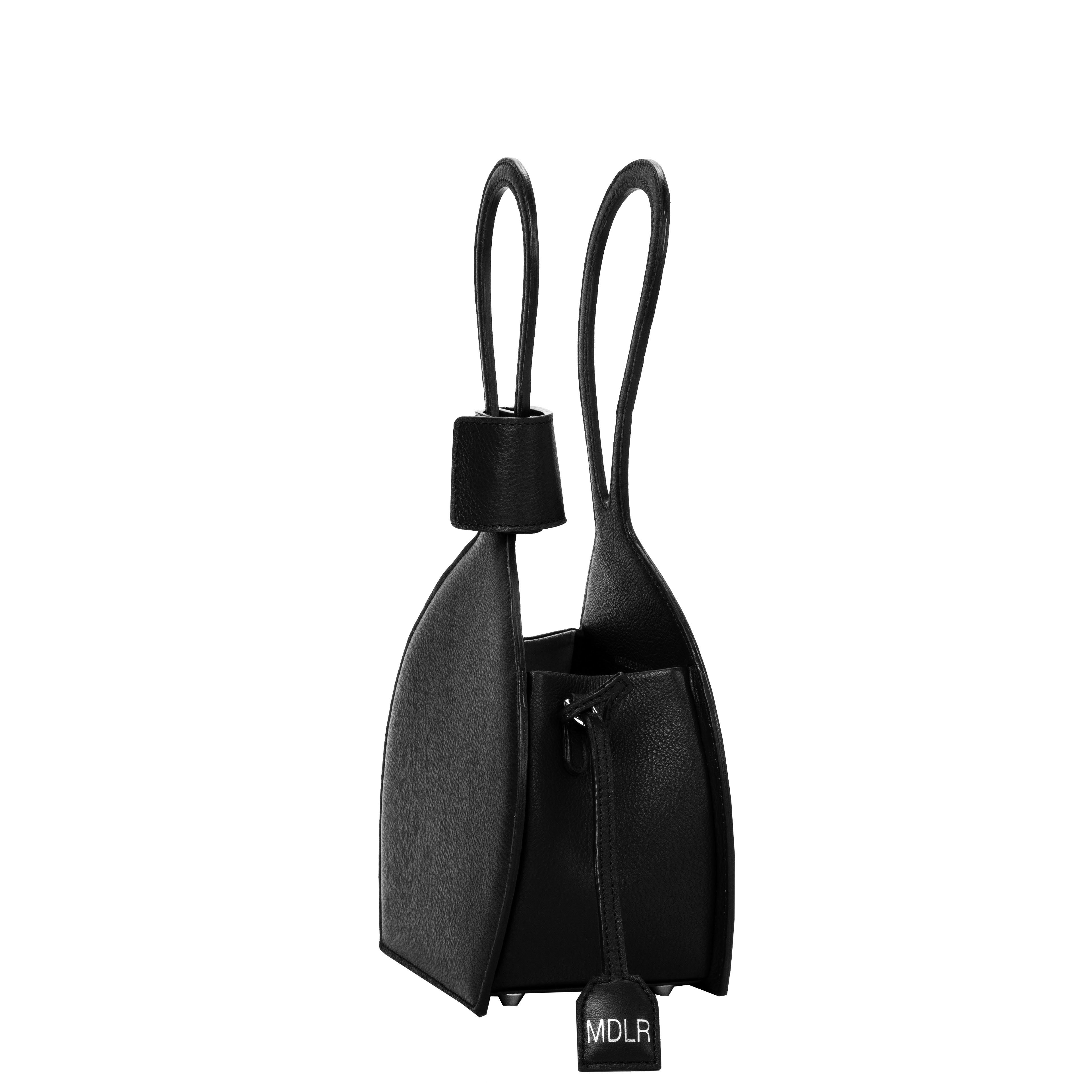 ATENA BLACK PURSE-SLING BAG, a black bag, handbag with minimalist look from MDLR