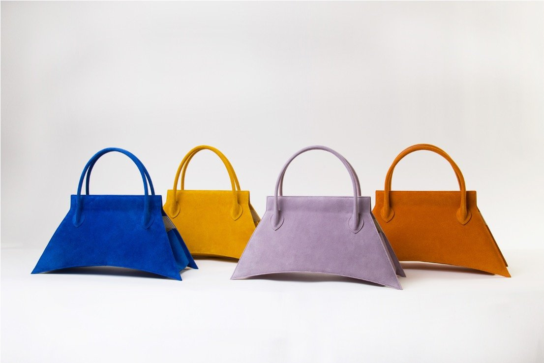 Collection of MINI BLANKET SUEDE Bag, a party bag with suede leather finish and available in various colors
