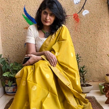 Load image into Gallery viewer, Mustard Mubarakpur Dupatta