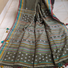 Load image into Gallery viewer, Olive green cotton Bhujodi