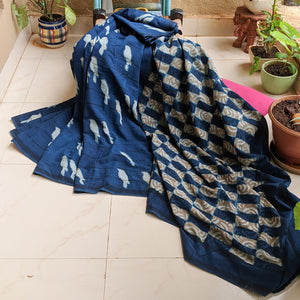 Indigo Cotton Block Print