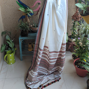 White cotton Bhujodi