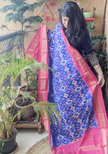 Load image into Gallery viewer, silk ikat dupatta