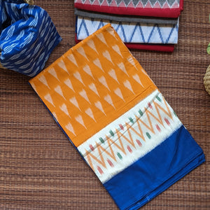 handloom pochampally ikkat saree in cotton