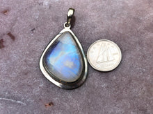 Load image into Gallery viewer, Rainbow moonstone pendant 6