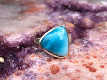 Load image into Gallery viewer, Larimar ring size 7