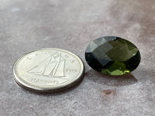Load image into Gallery viewer, Moldavite faceted 3