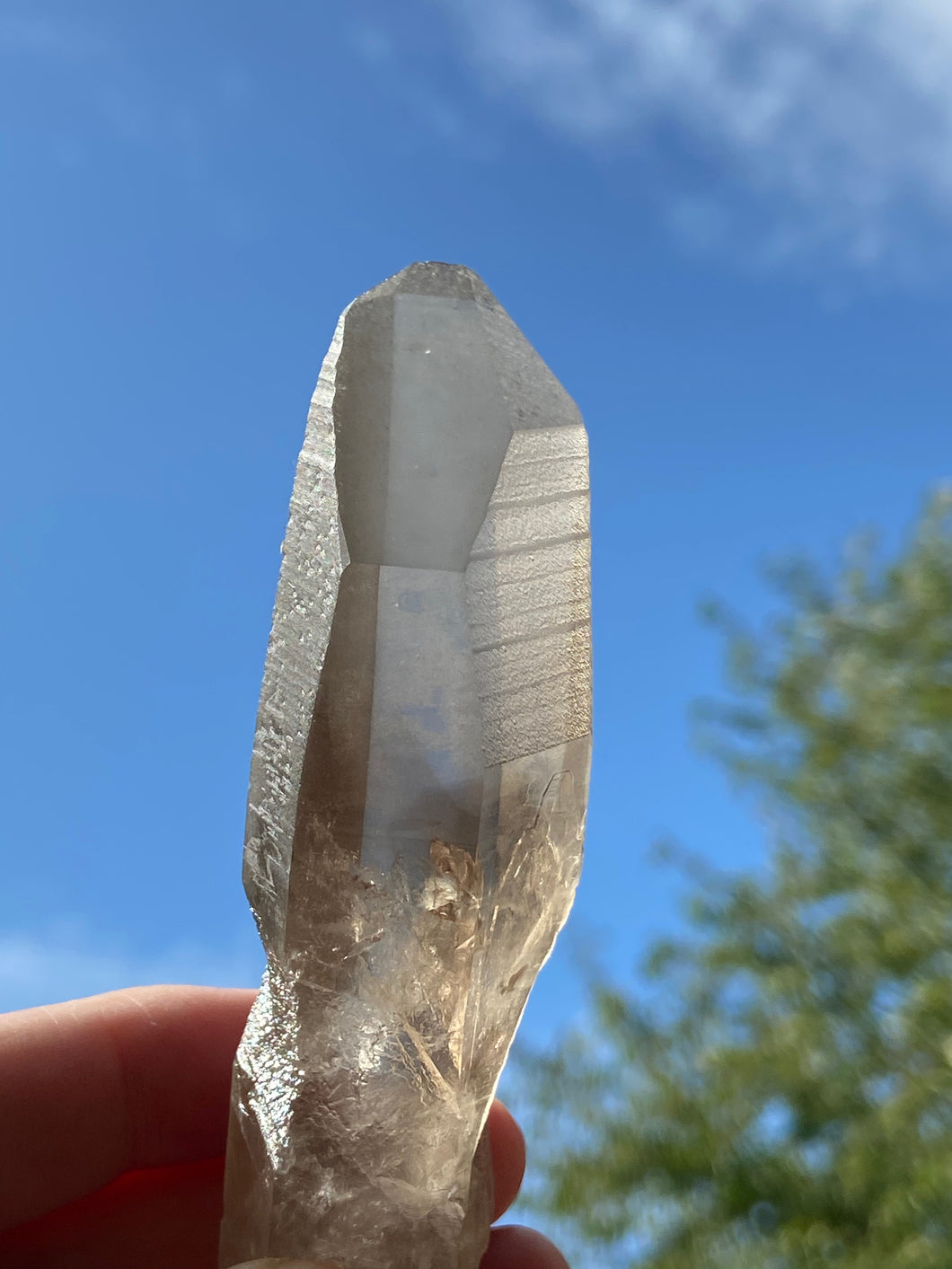 Lemurian smokey quartz 3