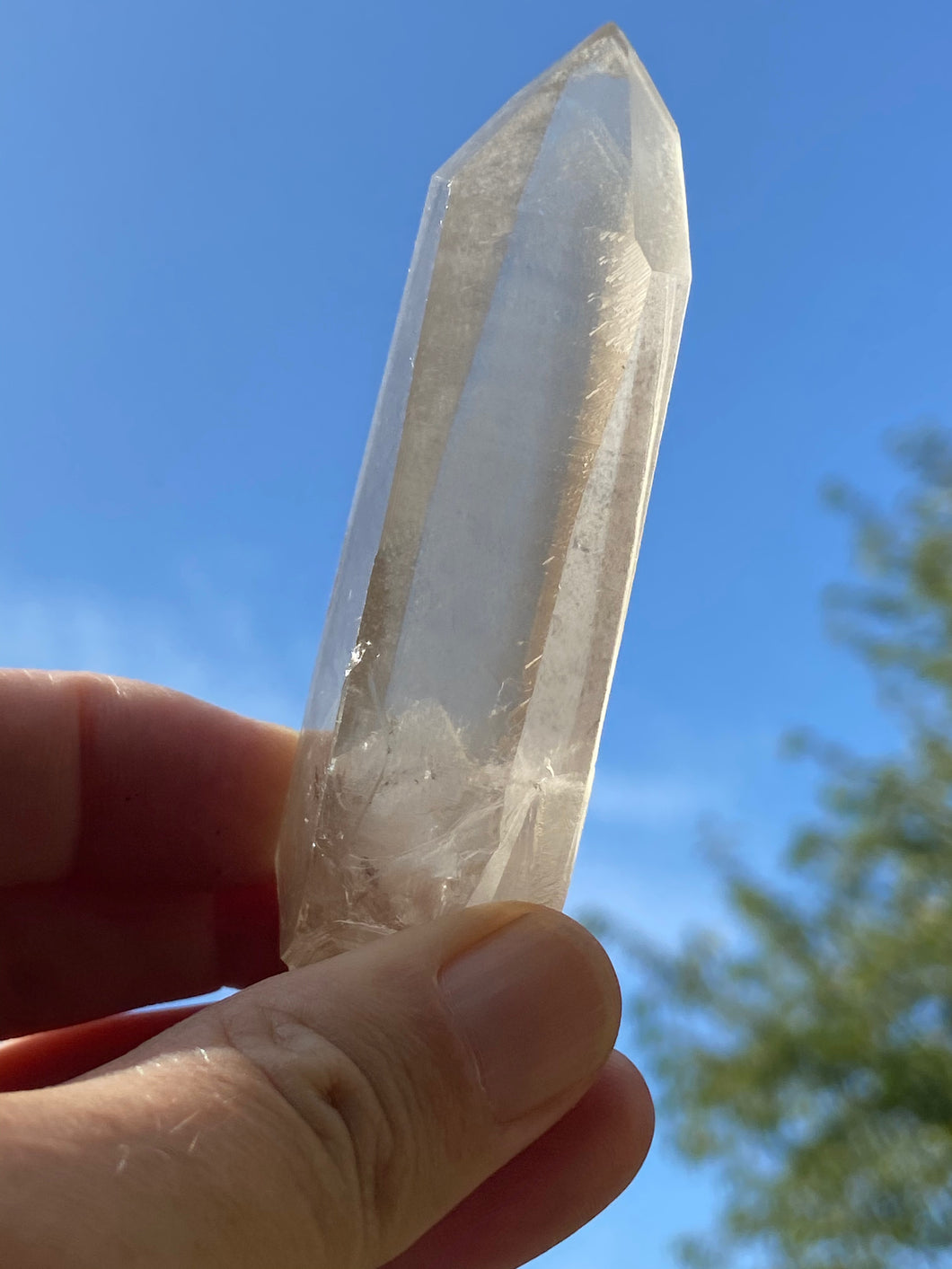 Lemurian smokey quartz 2