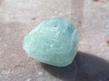 Load image into Gallery viewer, Aquamarine faceted 5
