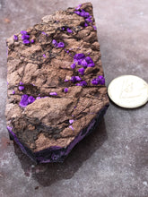 Load image into Gallery viewer, sugilite fibrous specimen