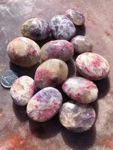 Load image into Gallery viewer, pegmatite palm stones small