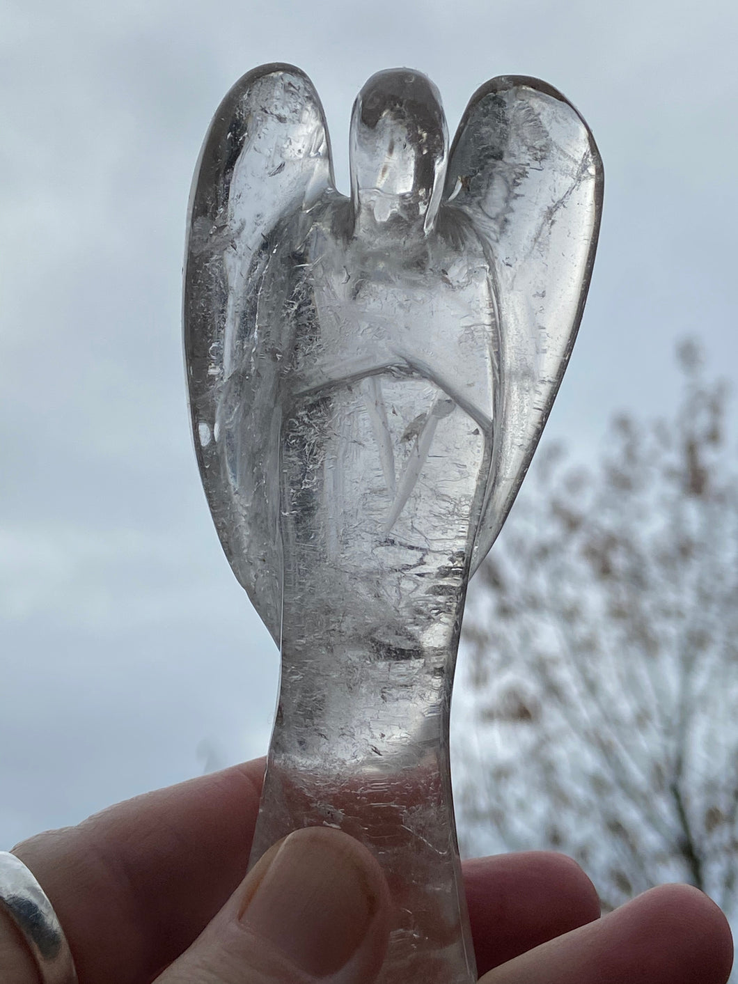 Lemurian Quartz Angel