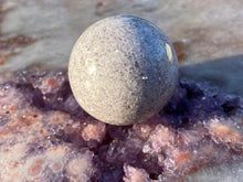 Load image into Gallery viewer, Lepidolite sphere 40mm 3
