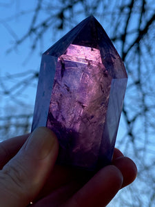 Amethyst polished point 5
