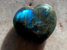 Load image into Gallery viewer, Labradorite Heart 4