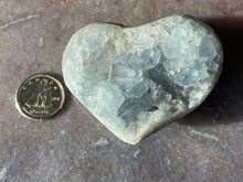 Load image into Gallery viewer, Celestite Heart 6