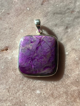 Load image into Gallery viewer, Sugilite pendant 11