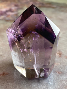 Amethyst polished point 21