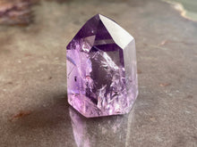 Load image into Gallery viewer, Amethyst polished point 13