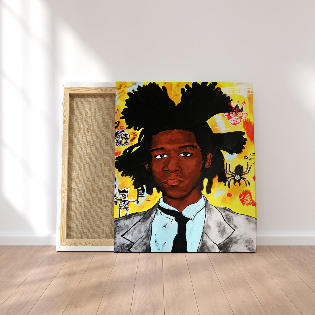 Original Art Print, Basquiat Artwork