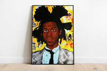 Load image into Gallery viewer, Original Art Print, Basquiat Artwork