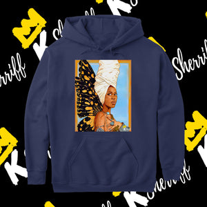 Erykah Badu Hooded Sweatshirt