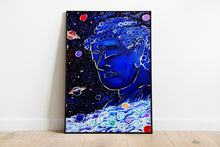 "Load image into Gallery viewer, Original Art Print, Buddha Wall Art on Canvas or Poster, Buddha Statue - ""Buddha"""