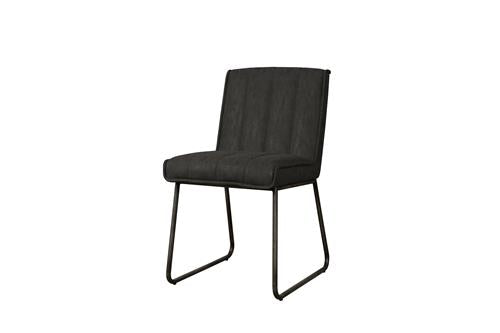 Santo sidechair - fabric Miami 001 antracite