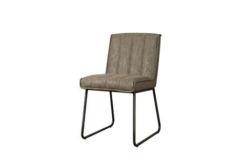 Santo sidechair - fabric Miami 002 grey