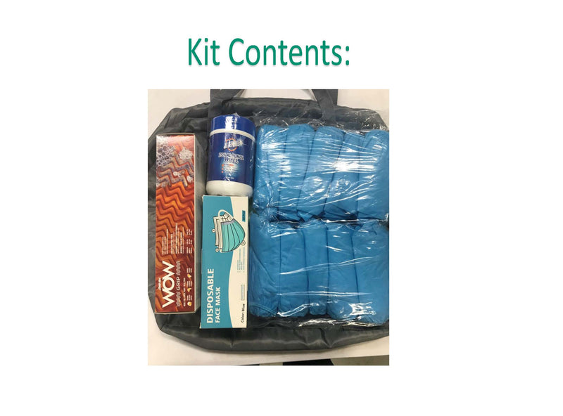 Covid-19 Safety PPE Kit (see attached table for Kit details)