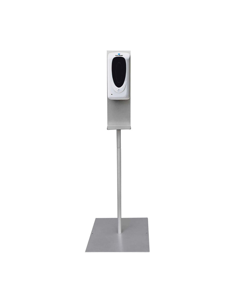 PLUM GROVE - Automatic Hand Sanitizer Dispenser with 4-FT Silver Stand -1/EA