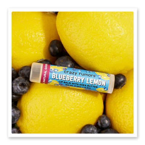 Blueberry Lemon Lip Balm, 3/Pack