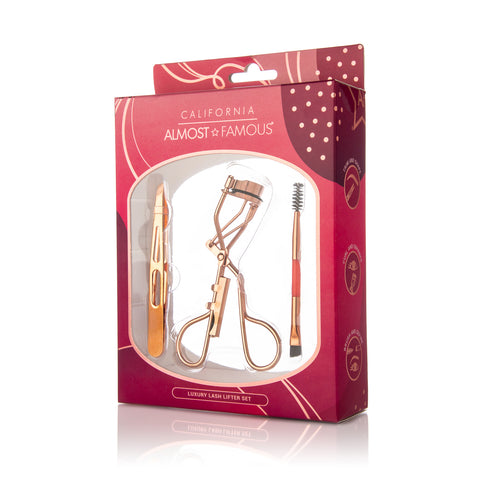 Almost famous Lash Lifter Premium Eye Care Kit - Rose Gold