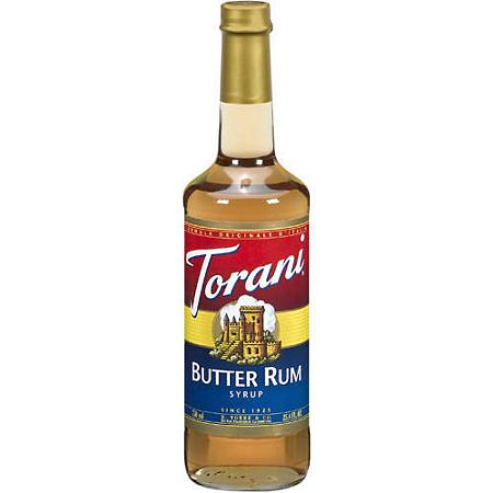 Butter Rum Torani Syrup