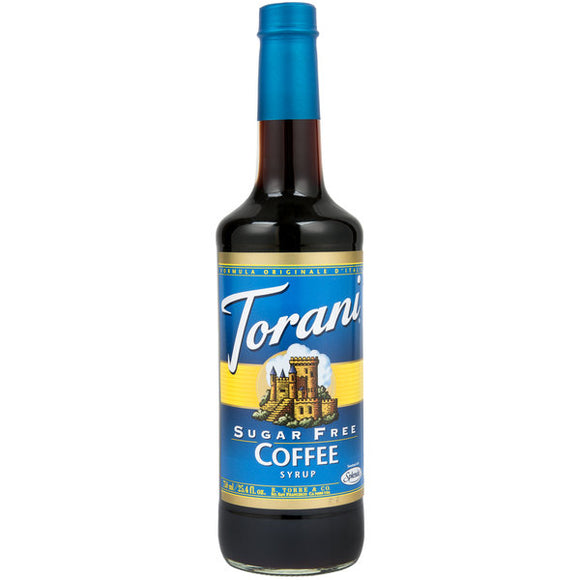Sugar Free Coffee Torani Syrup