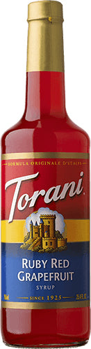 Ruby Red Grapefruit Torani Syrup