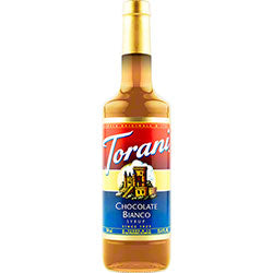 White Chocolate Torani Syrup